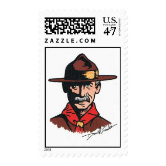 Scouting Centennial Stamp by David Smith