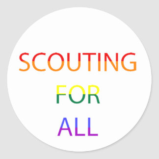 Scouting for All Sticker Sheets