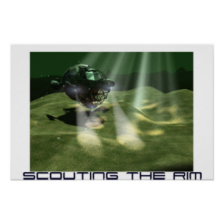 Scouting the Rim Poster