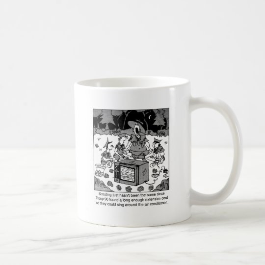 Scouting with Air Conditioners Coffee Mug