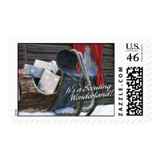 Scouting Wonderland Stamp
