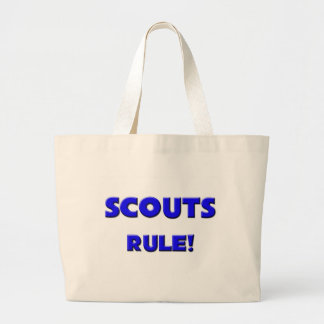 Scouts Rule! Large Tote Bag