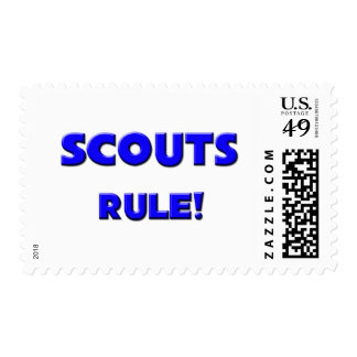 Scouts Rule! Stamps