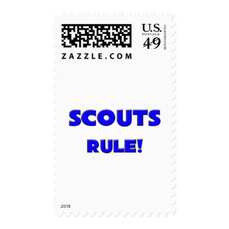 Scouts Rule! Postage