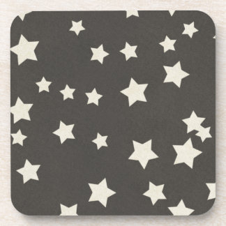 SCP SPACE STARS CARTOON BLACK WHITE BACKGROUNDS PA DRINK COASTERS