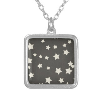 SCP SPACE STARS CARTOON BLACK WHITE BACKGROUNDS PA NECKLACES