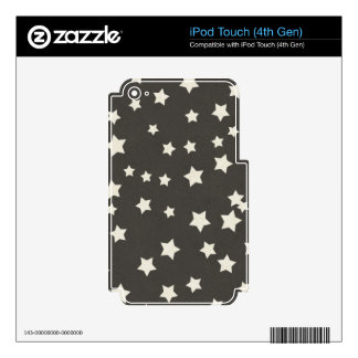 SCP SPACE STARS CARTOON BLACK WHITE BACKGROUNDS PA iPod TOUCH 4G SKINS