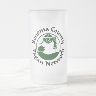 SCPN Circle Logo - Frosted Stein - 1 Green/Black