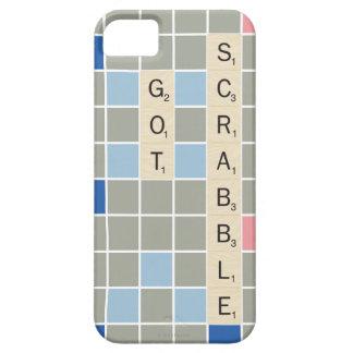 Scrabble conseguido iPhone 5 fundas