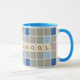 Scrabble Pattern 2 Mug