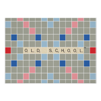 Scrabble Pattern 2 Posters