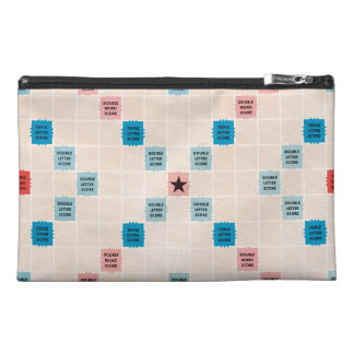 Scrabble Vintage Gamboard Travel Accessory Bag