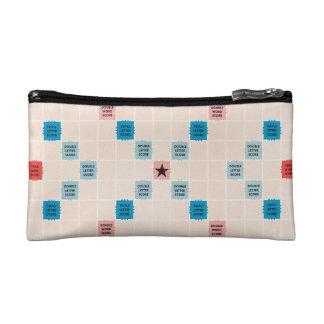 Scrabble Vintage Gamboard Cosmetics Bags