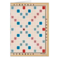 Scrabble Vintage Gameboard
