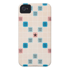 Scrabble Vintage Gameboard iPhone 4 Case-Mate Case at Zazzle