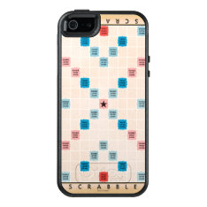 Scrabble Vintage Gameboard Otterbox Iphone 5/5s/se Case at Zazzle