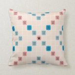 Scrabble Vintage Gameboard Throw Pillow