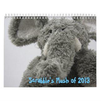 Scrabble's Plush of 2013 Calendar