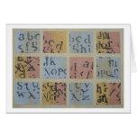 Scrabbling Card
