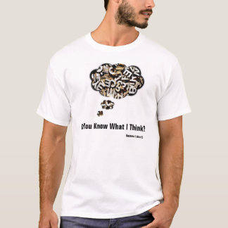 Scrabled thoughts T'Shirt T-Shirt