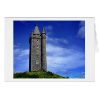 Scrabo Tower Card