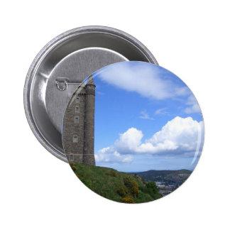 Scrabo Tower, Northern Ireland 2 Inch Round Button