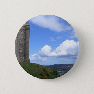 Scrabo Tower, Northern Ireland Pinback Button
