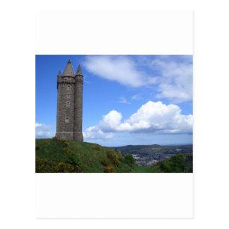 Scrabo Tower Northern Ireland Postcard
