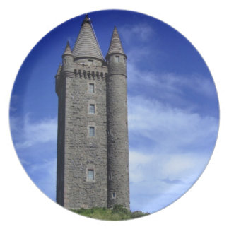 Scrabo Tower Party Plates