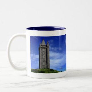 Scrabo Tower Two-Tone Coffee Mug