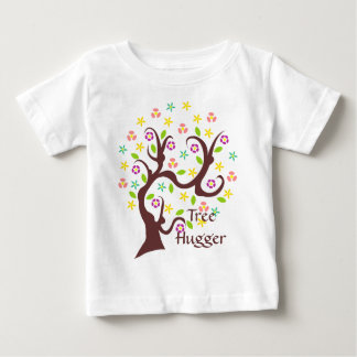 Scraggly Abstract Tree Baby T-Shirt