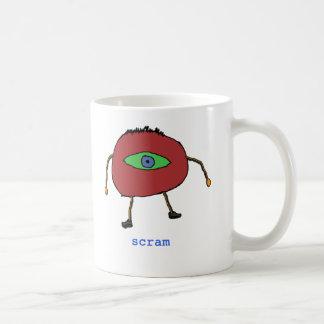 scram don't scram mug