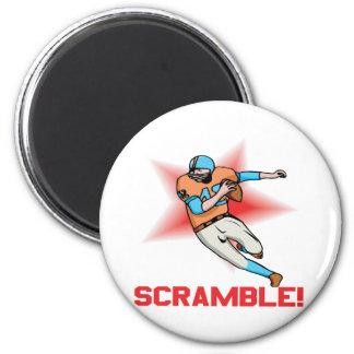 Scramble 2 Inch Round Magnet