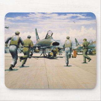 Scramble at Phan Rang by William S. Phillips Mouse Pad