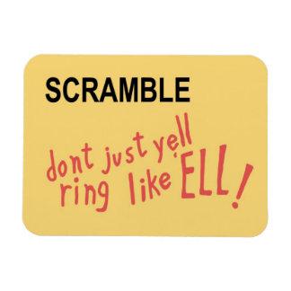 SCRAMBLE! Magnet