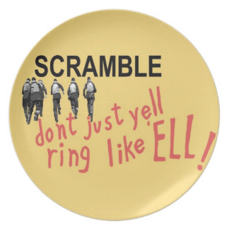 SCRAMBLE! Plate