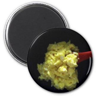 Scrambled Eggs 2 Inch Round Magnet