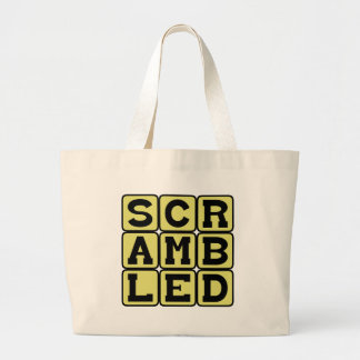 Scrambled, Type of Eggs Tote Bags