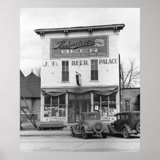 Scranton, Iowa, 1940 Print