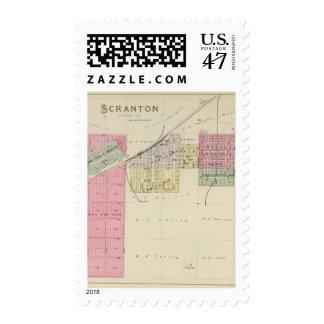 Scranton, Osage County, Kansas Postage