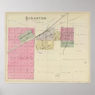 Scranton, Osage County, Kansas Print