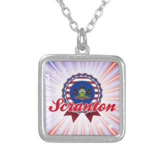 Scranton PA Personalized Necklace