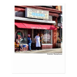 Scranton PA Post Card-Coney island Lackawanna Postcard