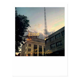 Scranton PA Post Card-Times Tower-PNC Postcard