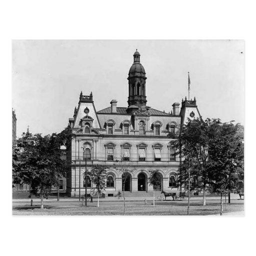 Dunmore Pennsylvania: Scranton Pa. Post Office Postcard