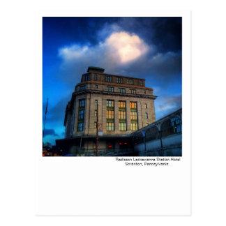 Scranton,PA -Radisson Lackawanna Station Hotel Postcard