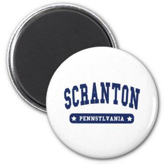Scranton Pennsylvania College Style tee shirts Fridge Magnet