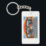 "Scranton Pennsylvania PA Vintage Travel Souvenir Keychain<br><div class=""desc"">Scranton,  Pennsylvania PA