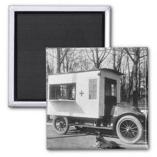 Scranton Red Cross Canteen Truck Magnet