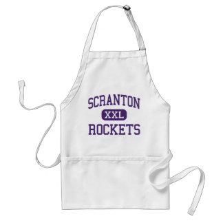 Scranton - Rockets - altos - Scranton Arkansas Delantal
